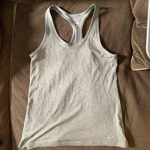 Women's Dri-Fit Nike Racerback Tank Top Grey